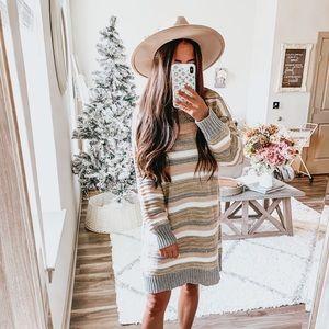 Size small sweater dress nwot